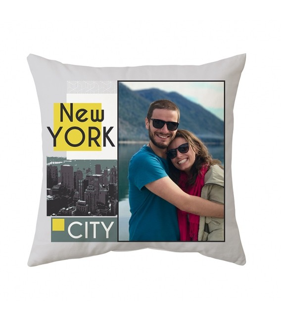 Coussin personnalisable 3 tailles Décor NEW YORK
