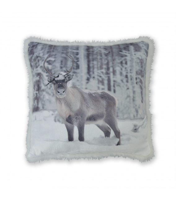 Coussin déco CARIBOU by Tendance Perso ®