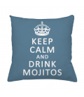 Coussin KEEP CALM and DRINK MOJITOS