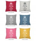 Coussin personnalisable KEEP CALM and LOVE ME
