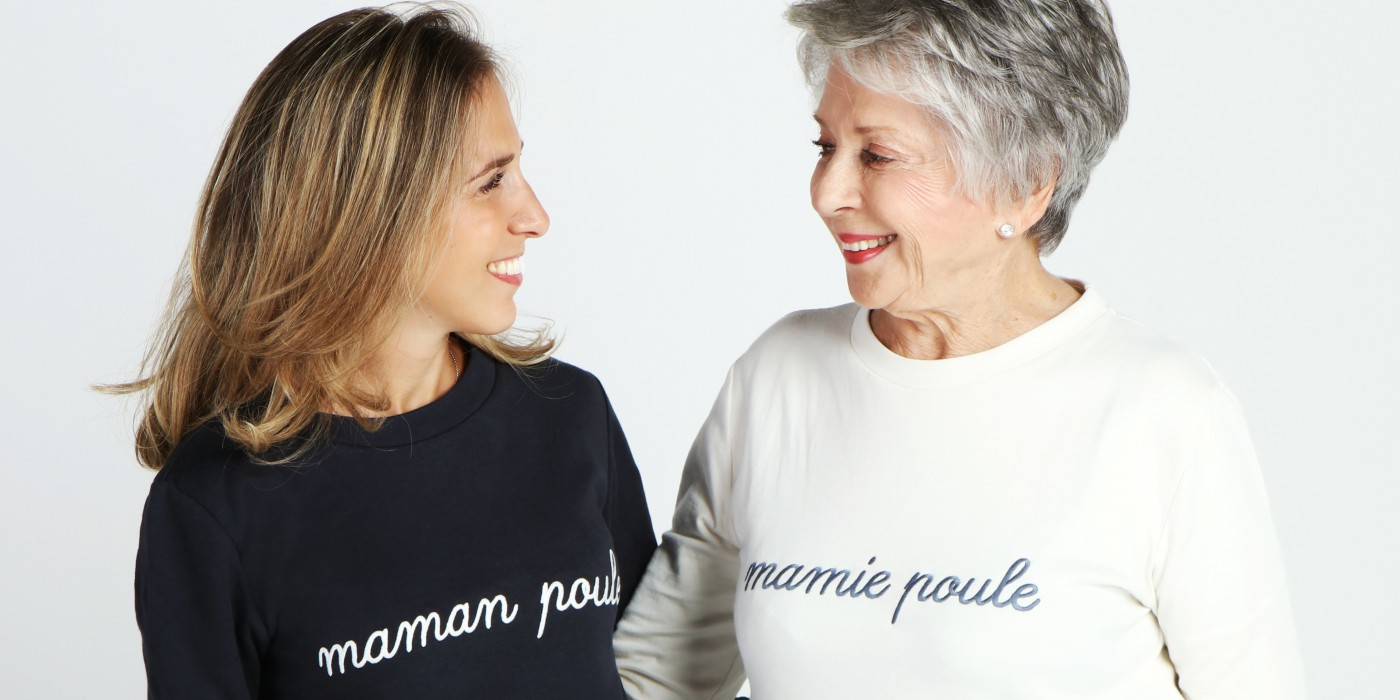 mamie et maman complices